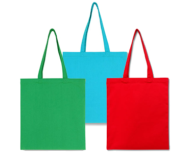 Colored eco-bags