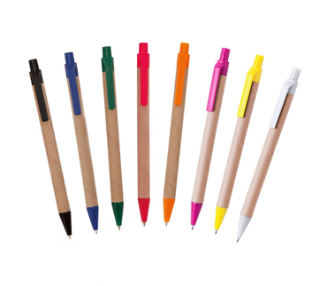 Eco-pens with plastic clip